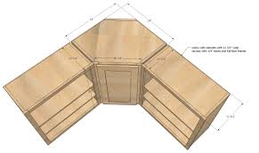 Lower Corner Kitchen Cabinet Ideas by Ana White Wall Kitchen Corner Cabinet Diy Projects