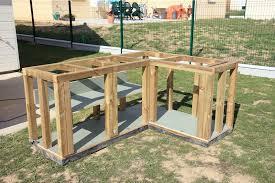 meuble cuisine exterieure bois meuble pour cuisine exterieure maison design bahbe com