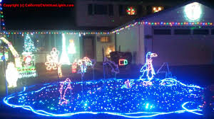 Christmas Tree Lane Fresno by Best Christmas Lights And Holiday Displays In Vacaville Solano County