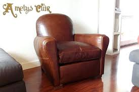 recouvrir un fauteuil club prix fauteuil club cuir fauteuil club aspect cuir vieilli marron