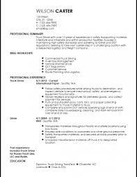 Truck Driver Resume Examples Created By Pros Myperfectresume Sample