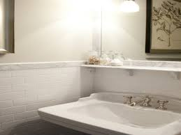 Bathroom White Subway Tile Backsplash Ideas White Tile Bathroom Ideas Pinterest Tile Bathroom Tiles Our Best Subway Ideas Better Homes Gardens And Photos With Marble Grey Grey Subway Tiles Traditional For Small Bathrooms Accent In Shower Fresh Creative Decoration Light Grout Dark Gray Black Vanities Lovable Along All As