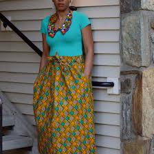 obla ankara skirt kitenge long skirt african print skirt