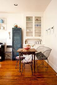 Repainted Vintage Cabinet Reclaimed Decor And Fabulous Furniture Shape The Smart Dining Room From