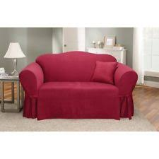 suede 3 seater sofa sure fit furniture slipcovers ebay