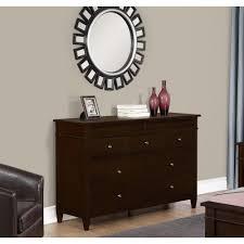 Sauder Harbor View Dresser And Mirror by Aristo 4 Drawer Dresser By Overstock Havenly