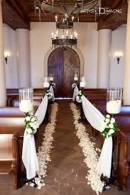 Small Church Wedding Decorations