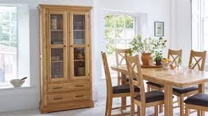 Oak Display Cabinets