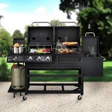 cuisine barbecue gaz barbecue haut de gamme à 4 fonctions barbecue à charbon de bois