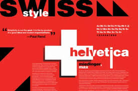 What Is Swiss Style Typography