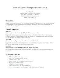 Customer Service Agent Job Description Duties Resume Of