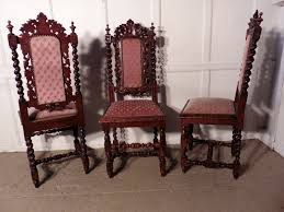 Good Set Of 6 Victorian Gothic Jacobean Style Oak Dining Chairs ... Ten Piece Jacobean Style Ding Room Harvest Set Jacobean Style Ding Table Sahanhme Antique Jacobean 7piece Ding Set Wood Room Chairs Table Buffet China Superb Of 8 Oak Made In The Uk Jacobeanstyle Brixton Ldon Gumtree Style And Six Fniture Characteristics Collection Of Bluewhite China On Heavy Carved Oak With Rustic 132198 Cm Extending And 6 Revival Plank Top Trestle Six Chairs Oyster Coalville Leicestershire I Have A 1940s Vintage Solid Mahogany Room Set That English Chair 4 Barley Twist C1900