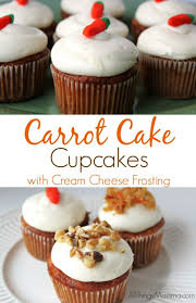 Guaranteed to be moist and delicious this homemade from scratch Carrot Cake Cupcake with