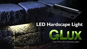 led hardscape light landscape retaining wall light with mortar