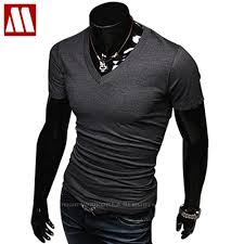 mens colored v neck t shirts reviews online shopping mens