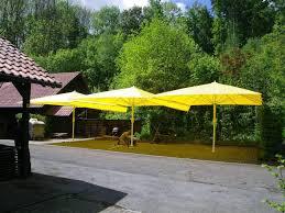 Large Fim Cantilever Patio Umbrella by Patio 22 Large Patio Umbrellas Large Rectangular Patio