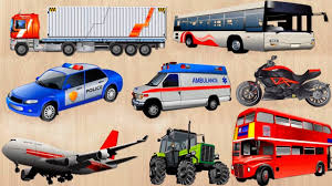 100 Names For A Truck Learning Street Vehicles And Sounds For Kids Learn Cars