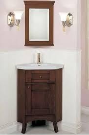 Corner Bathroom Vanity Set by Corner Solid Oak Bathroom Vanity Unit Obras Pinterest