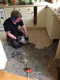 easiest way to remove floor tile adhesive mybuilders org