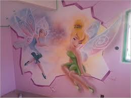chambre fee clochette chambre fee 85259 cristal et la fée clochette graffiti trompe l oeil
