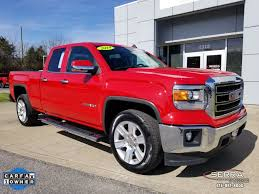100 Gmc Truck 2014 Certified PreOwned GMC Sierra 1500 SLE Extended Cab In Madison