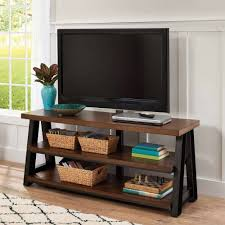 Whalen Computer Desk At Sams Club by Better Homes And Gardens Mercer 3 In 1 Brown Tv Stand For Tvs Up