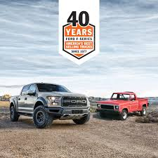 100 Best Selling Truck In America Unprecedented Ford FSeries Achieves 40 Consecutive Years As