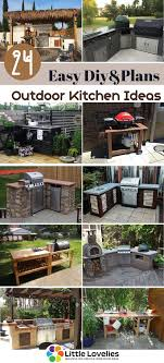 Garden Kitchen Ideas 24 Diy Outdoor Kitchen Ideas And Plans