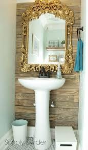 Diy Industrial Bathroom Mirror by Best 25 Industrial Chic Bathrooms Ideas On Pinterest Industrial