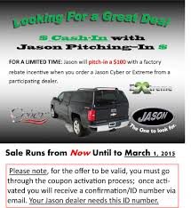 Jason Product Coupon | Jason Industries, Inc Trek Series Custom Design Millennium Lings Photo Gallery 15c F150 Rear Window Of The Jason Cyber Truck Cap Zone Truck Cap With Double T Swiss Commercial Hdu Alinum Ishlers Caps 2017 Nissan Camper Shell Toppers Mesa Az 85202 Video The Inside Story How Your Are Gets Built Covers Rlc Accsories Toppers Opening Hours 2493 Canboro Rd E Fonthill On A Sales And Service In Lakewood Littleton Colorado Arrow Canopies Question Rangerforums Ultimate Ford Ranger Ladder Rack For With Best Resource