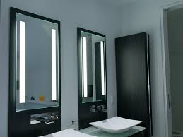 marvelous charming lighted bathroom mirror can light on cabinet