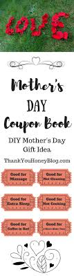 The 25 best DIY Mother s day coupon book ideas on Pinterest