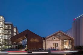 100 Architecture Depot A Derelict Freight Depot Is Transformed Into A Food Market