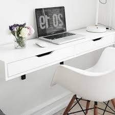 Desk Wall Mounted Folding Ikea Laptop Pertaining To Amazing