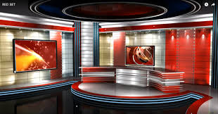 Intro Animation For Your News Show Create Nice Looking Shows With Our New Virtual Studio Background The Perfect Green Screen Backdrop
