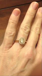 CERTIFIED OVAL Solitaire Diamond Halo Vintage Style 18K Gold Engagement Ring NEW