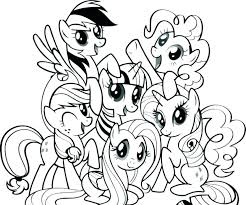 Pinky Pie Coloring Pages Pony Page My Little Pinkie