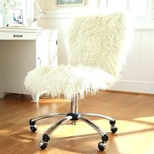 Fur Desk Chair Ebay Remarkable Office With White