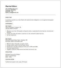sle resume cover letter hair stylist sle hair stylist resume unforgettable hair stylist resume