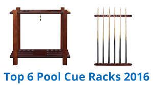 6 Best Pool Cue Racks 2016
