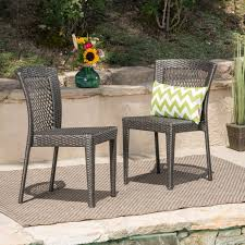 Bonnie Outdoor Gray Wicker Stackable Dining Chairs Gdf Studio Dorside Outdoor Wicker Armless Stack Chairs With Alinum Frame Dover Armed Stacking With Set Of 4 Palm Harbor Stackable White All Weather Patio Chair Bay Island Noble House Multibrown Ding 2pack Plowhearth Bistro Two 30 Arm Brown 51 Bfm Seating Ms11cbbbl Gray Rattan Inoutdoor Restaurant Of Red By Crosley Fniture