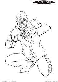 But Is It An Odd Ood Official BBC Doctor Who Coloring Page Philip Going To Be SO Excited