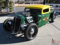 1936 International Harvestor Traditional Style Hot Rod Rat Rod ...