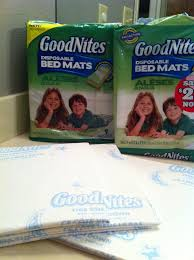 Goodnites Disposable Bed Mats by Goodnites For Me