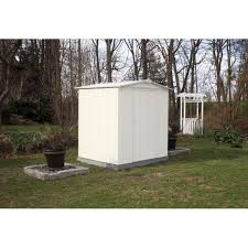 Arrow Shed Instructions 10 X 12 by Ezee Shed 6 X 5 Ft Storage Shed In Cream