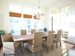 Beach Dining Rooms House Room Beautiful Coastal Chair Slipcovers