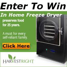 In Home Freeze Dryer Giveaway American Preppers Network