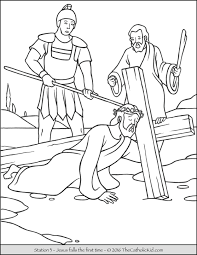 Stations Of The Cross Coloring Pages 3