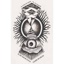 Totem Temporary Tattoo Stickers Sticker Eye Of God Body Art Water Transfer Fake Flash