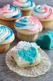 gender reveal cupcakes einfaches und gesundes rezept